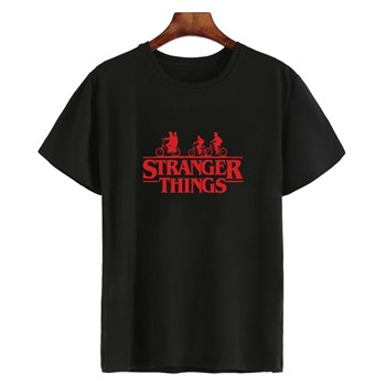 Stranger Things %100 Pamuk Unisex Tshirt